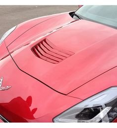 C7 Corvette Painted Hood Scoop Vent Louver Insert