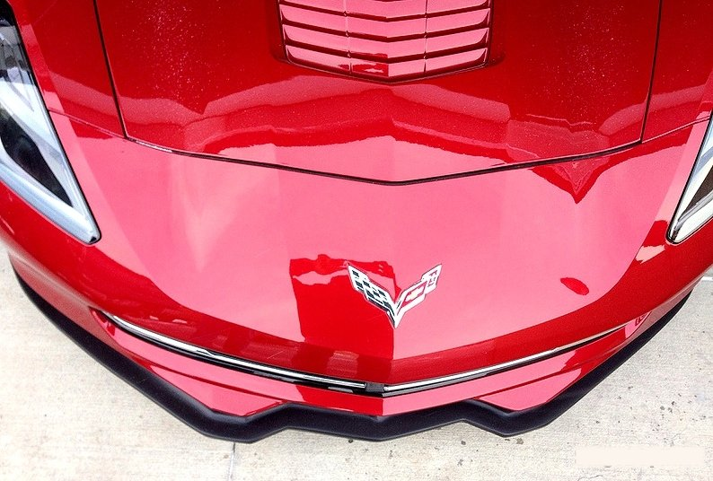 C7 Corvette Stingray Front Splitter - RPI Stage 2