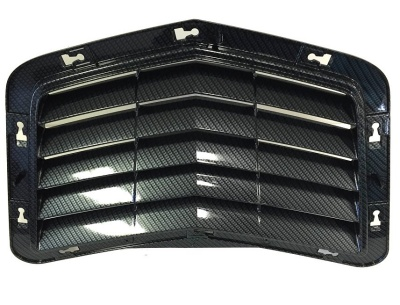 C7 Corvette Stingray Hydro Carbon Fiber Hood Scoop Vent Insert