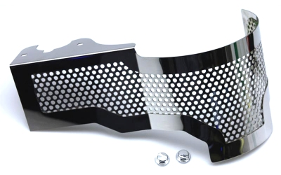 C7 Corvette Stingray Perforated Stainless Steel Alternator Cover