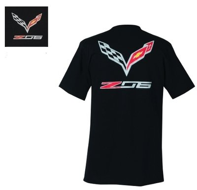 C7 Corvette Z06 Flags T-Shirt