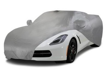 C7 Corvette Outdoor Car Cover - SilverTech