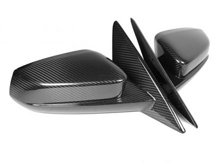 2010-2014 Ford Mustang APR Carbon Fiber Replacement Side Mirrors