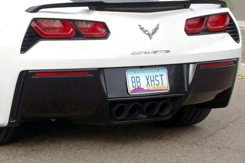 CHEVY C7 CORVETTE GEN. 3 – FUSION EXHAUST Black Tips