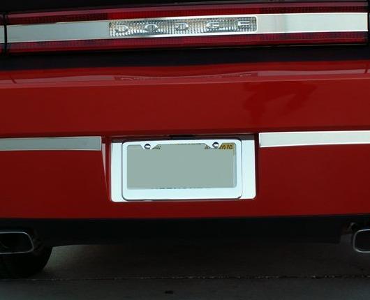 Dodge Challenger Rear License Plate Surround Rpidesigns Com