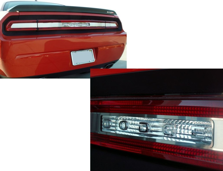 2009-2014 Dodge Challenger Tail Light Surround Panels