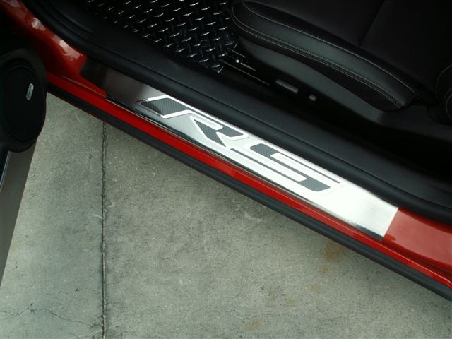 2010-2015 Camaro Door Sill Plates - RS & 2010-2015 Camaro Door Sill Plates -RS - RPIDesigns.com