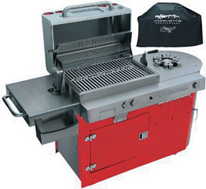 Corvette Professional Stainless Propane Grill