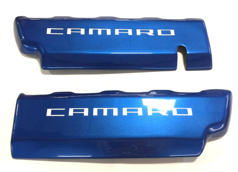2016-2017 Camaro Custom Painted Engine Fuel Rail Covers Overlays