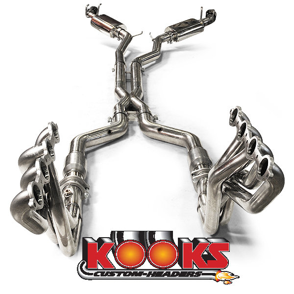 2010-2015 Camaro SS Complete Kooks Performance Headers and Exhaust