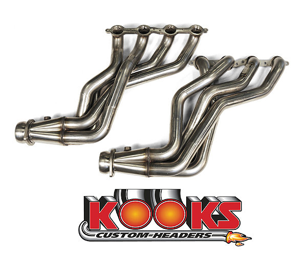 2010-2015 Camaro SS Long Tube Kooks Headers System