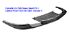 C6 Corvette Z06 Carbon Fiber VII Front Splitter APR
