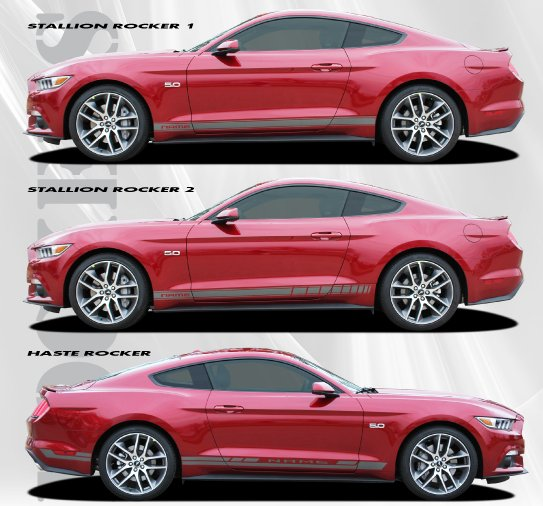 2015-2017 Ford Mustang Stallion Rocker Stripe Kit