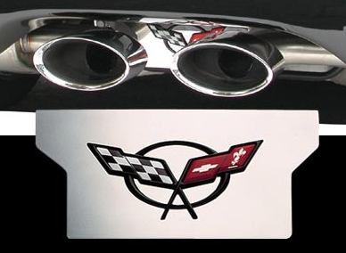 1997-2004 C5 Corvette Stainless Steel Exhaust Enhancer Plate