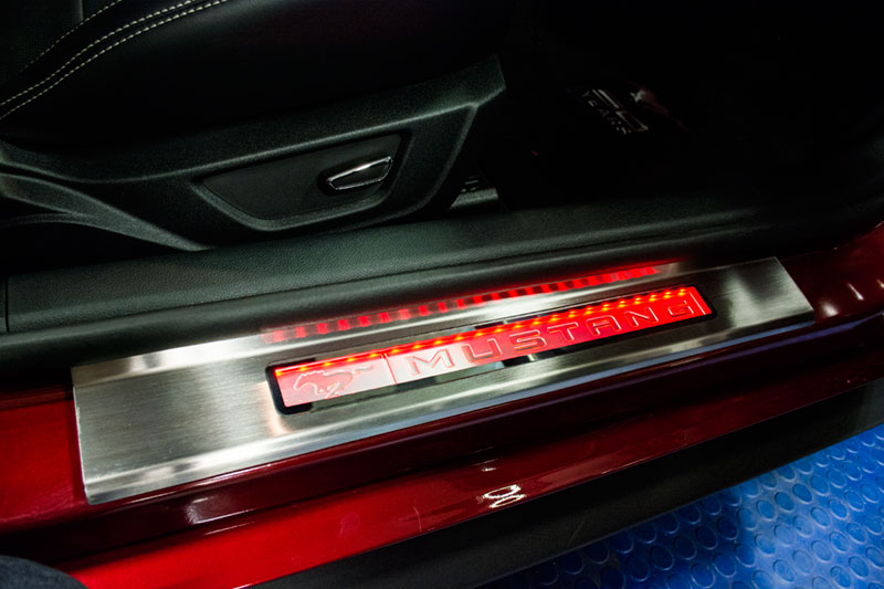 2015 2017 Mustang Illuminated Door Sills Rpidesigns Com