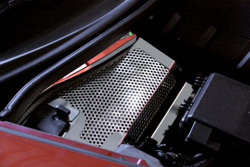 C6 Corvette Battery Cover Perforated