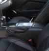 2010-2013 Ford Mustang Center Console Cover Polished