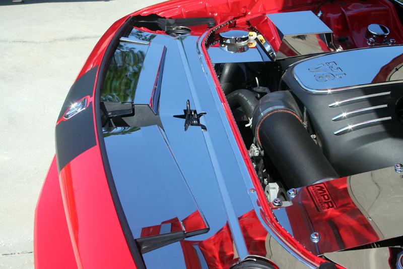 2008 2018 Dodge Challenger Header Plate Front Rpidesigns Com