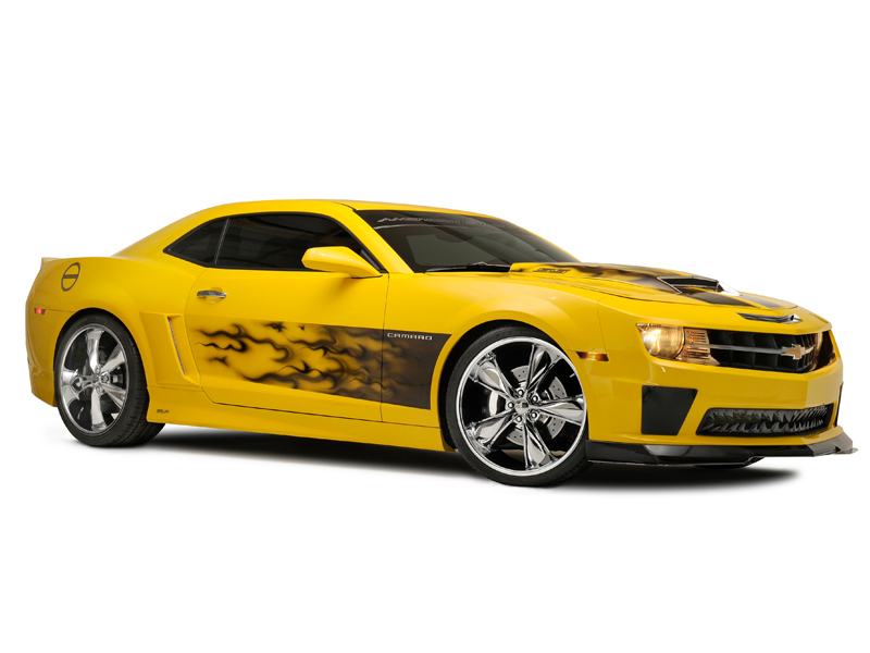 2010-2015 Camaro Graphic AirBrushed Look