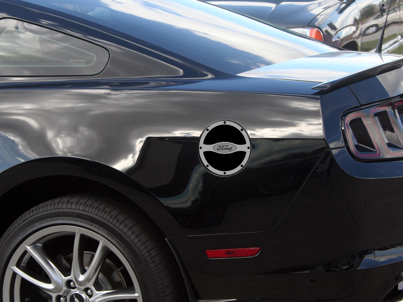 "2010-2013 Ford Mustang Gas Cap Cover ""Ford"""
