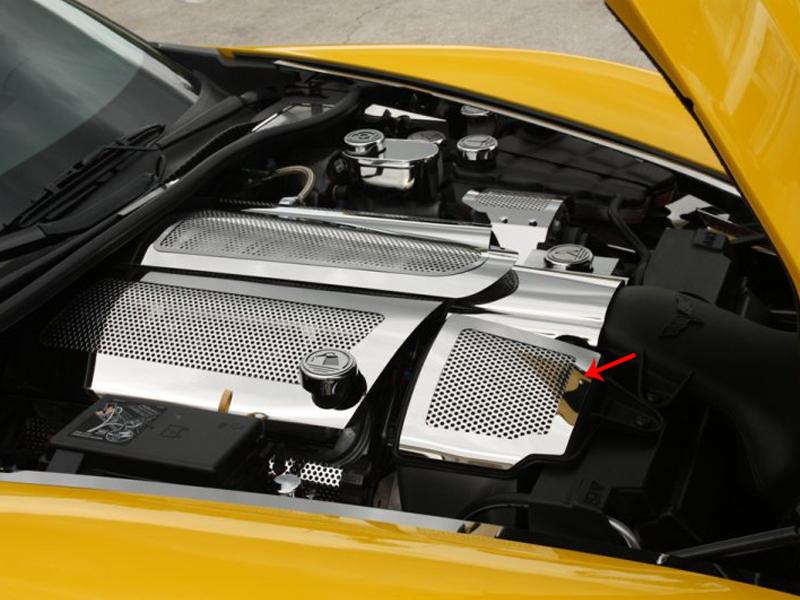 C6 Corvette Air Capacitor Cover
