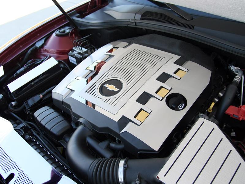 2010-2015 Camaro Engine Shroud Kit V6 ONLY - RPIDesigns.com