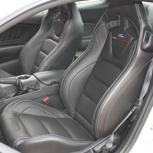 Remarkable 2015 2017 Ford Mustang Ford Performance Logo Recaro Seat Set Andrewgaddart Wooden Chair Designs For Living Room Andrewgaddartcom