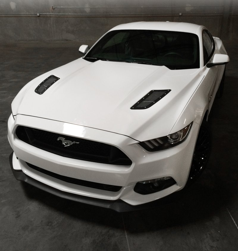 Ford Mustang Drake Speed Mesh Hood Vents Rpidesigns Com