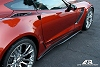C7 Corvette Z06 APR Carbon Fiber Side Rockers Skirts
