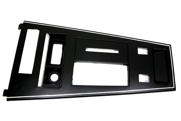 C3 Corvette Shifter Console Plate (plastic) With Power Windows Only