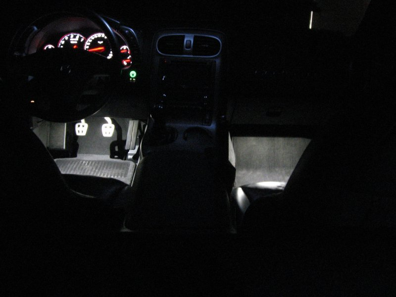 C5 Corvette BRIGHT LED Footwell Lighting KIt