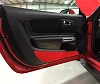 2015-2019 Ford Mustang Painted Door Kick Plates