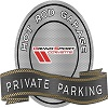 C6 Corvette Metal Sign Private Parking / Hot Rod Garage Grand Sport