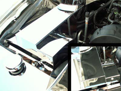 05-09 Mustang Stainless BCM Cover