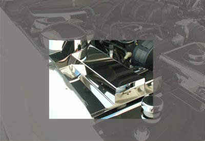 05-09 Mustang Stainless Fuse Box Cover
