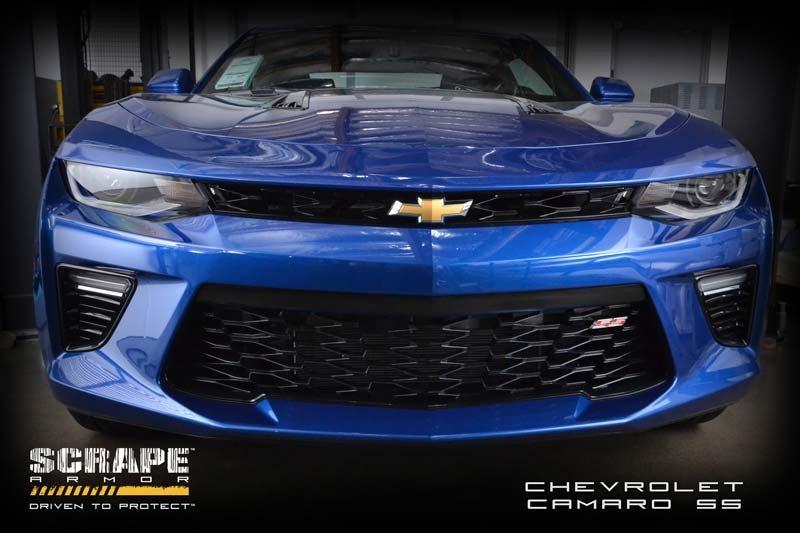 Camaro Bumper Guard : Rpi designs camaro scrape armor bumper protection