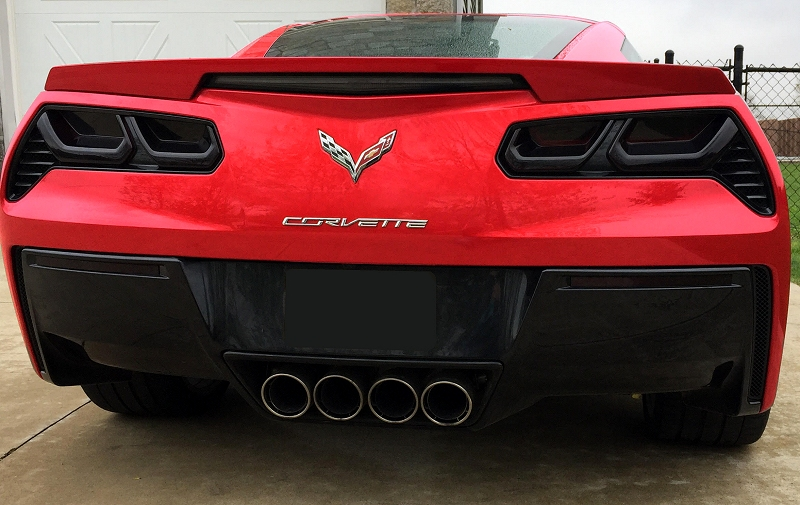 C7 Corvette Molded Acrylic Tail Light Blackouts Lens Package - RPI ...
