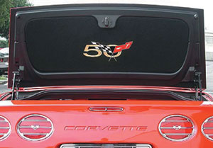 2003 C5 Corvette 50th Anniversary Trunk Liner