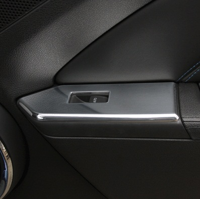 2010-2014 MUSTANG GT WINDOW SWITCH PLATES