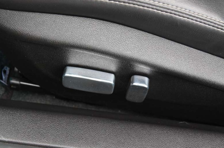 2010-2015 Camaro Billet Power Seat Button Covers