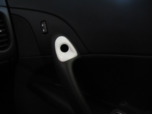 C6 Corvette Painted Interior Push Button Door Bezels