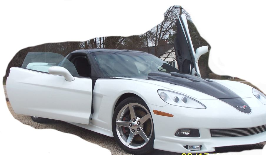 C6 Corvette Vertical Lambo Door Kit