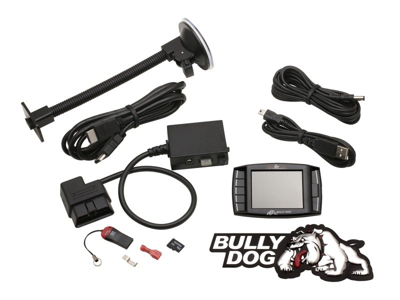 40417 Bully Dog Triple Dog Platinum GT Gas Tuner and Gauge
