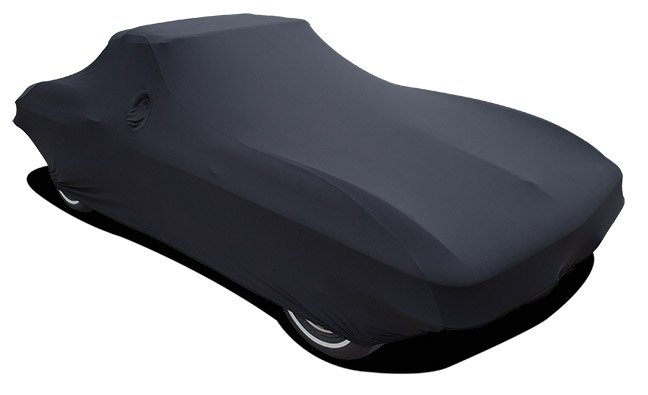 C1 Corvette Car Cover Satin Black Indoor