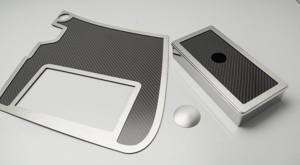 Fuse Box Cover Nz : C corvette real carbon fiber battery fuse box cover