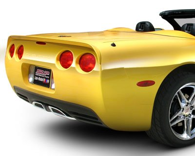 1997-2004 C5 Corvette Painted SLP Rear Spoiler