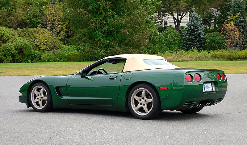 C5 Corvette Convertible Top Light Oak Original Twillfast