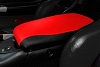 C5 Corvette Console Cushion 2 Tone AltraVinyl - Torch Red/Black