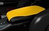 C5 Corvette Console Cushion 2 Tone AltraVinyl Millennium Yellow/Black