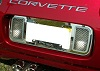 1997-2004 C5 Corvette Stainless Steel License Frame